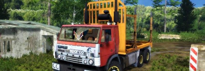 Kamaz Lesnik Forest Truck v1