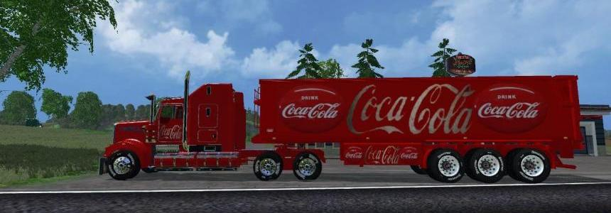 Kenworth CocaColaTruck  and CocaColaTrailer v1.0