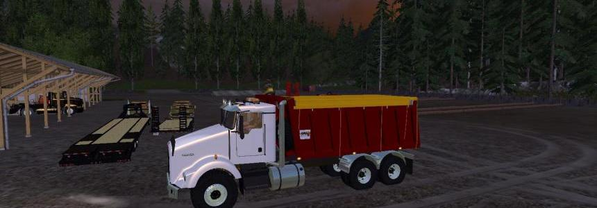 Kenworth Dump Bed Version 2 Revision v1