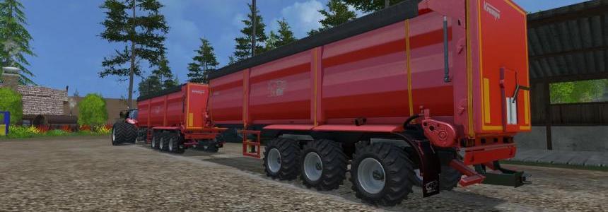 Krampe SB390 fieldmaster Multi trailers Dyeable V1.0