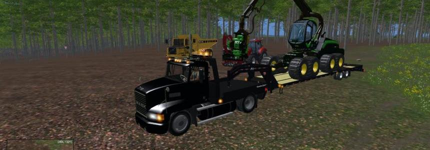 Mack Single Axle Flatbed  V1