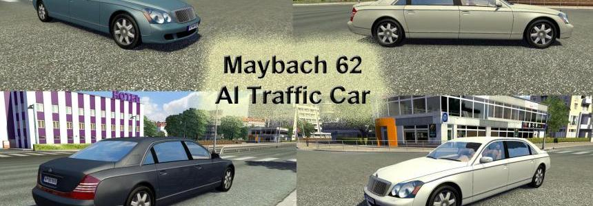 Maybach 62 AI Traffic Car