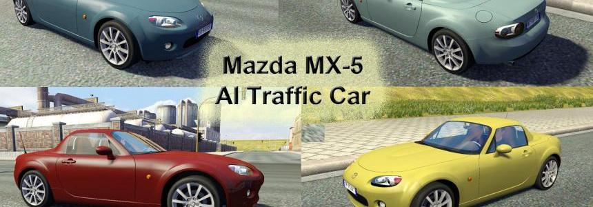 Mazda MX-5 AI Traffic Car