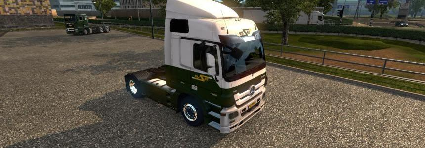 Mercedes Actros - Euser Transport 1.17.X