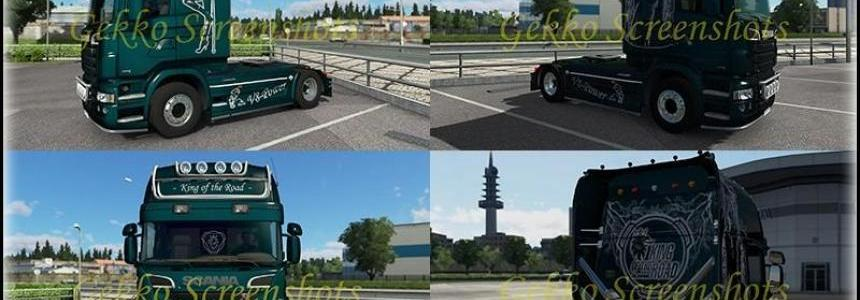 Metallic Skin for ScaniaR v1.0