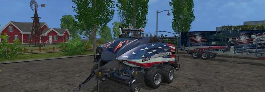 Newholland tractor and square baler v1.0