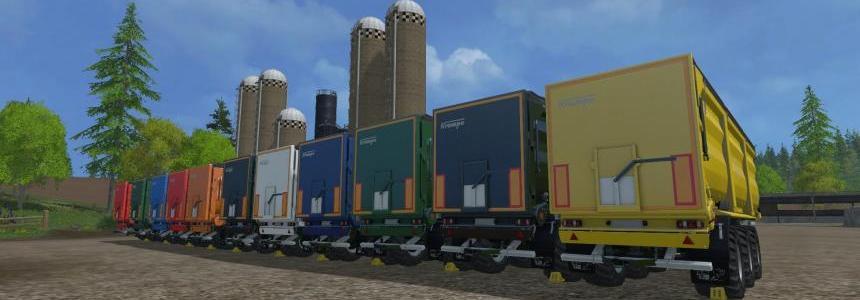 Krampe SB390 fieldmaster Multi trailers HDR Dyeable v1.1