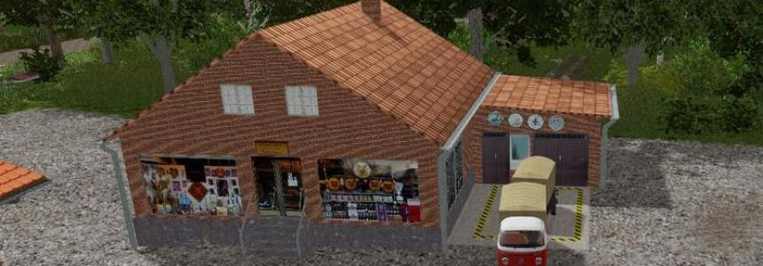 ROS Supermarket and shop v1.0