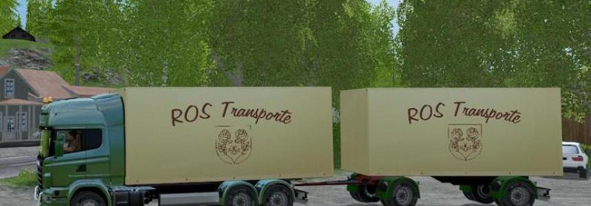 ROS Truck Scania and Trailer v0.5 beta