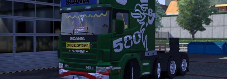 Scania 164L 580 V8 Sound