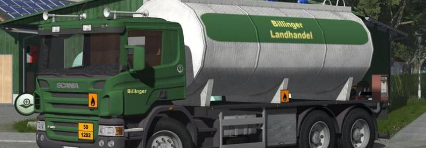 Scania diesel tank truck v2.0 final