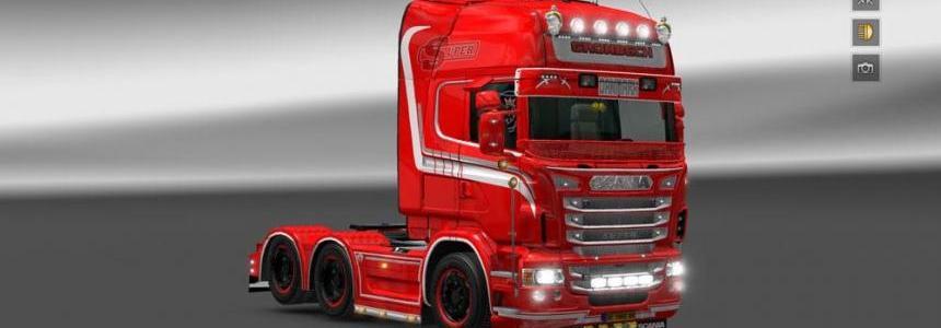 Scania Gronback Skin