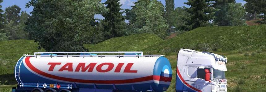Scania R- RJL tamoil petroli skin
