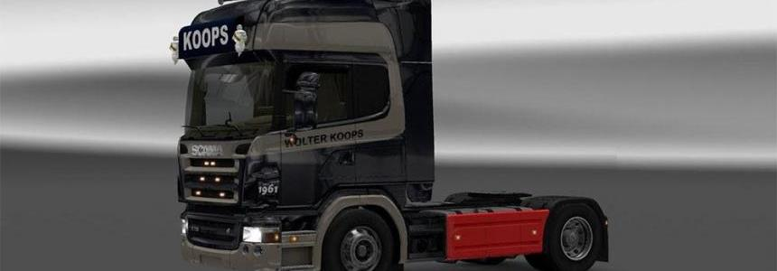 Scania r2008 Wolter Koops skin
