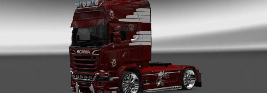 Scania Streamline Vaex Reek Holland Skin