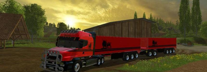 Scania T164-580 Long Line Pack BitMachine V1.0