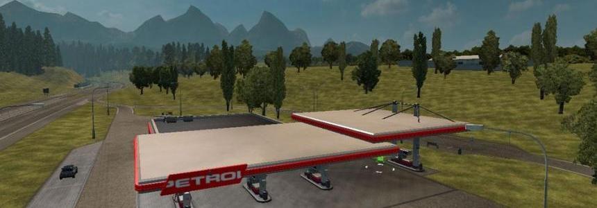 Slovenian Petrol Gas Station