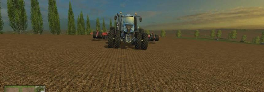 T8 New Holland with row crop duals