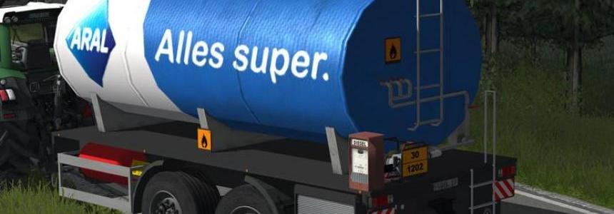 Tandem Trailer Diesel H97 v2.0 Aral