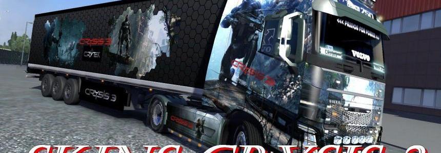 Trailer Frigo cooliner Crysis 3 – Aliens cryo – Fr