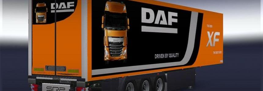 Trailer Lamberet DAF XF EURO 6 official