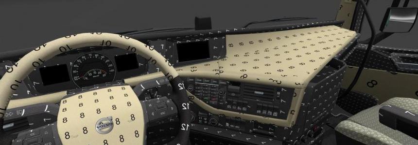 Volvo FH asisstans interior all version