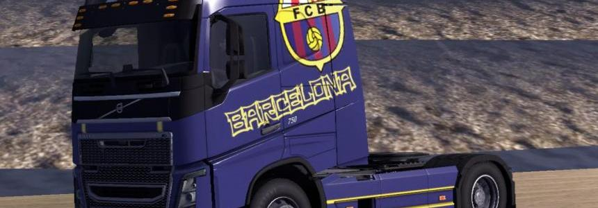 Volvo HF Barcelona Skin 1.16.x and 1.17.x