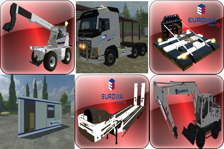 Pack eurovia ls15 1 1 for Pack travaux