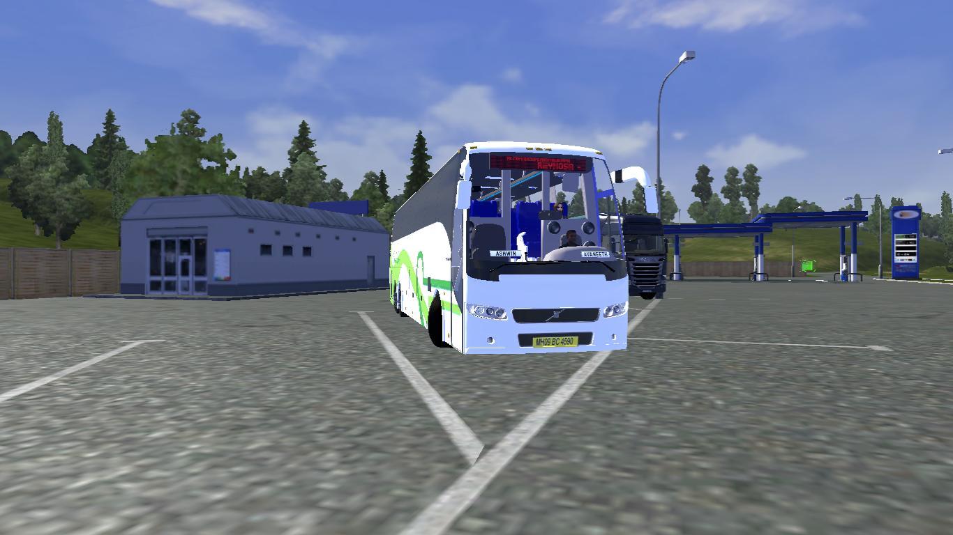 Volvo 9700 bus mod (Indian Skins) - Modhub us