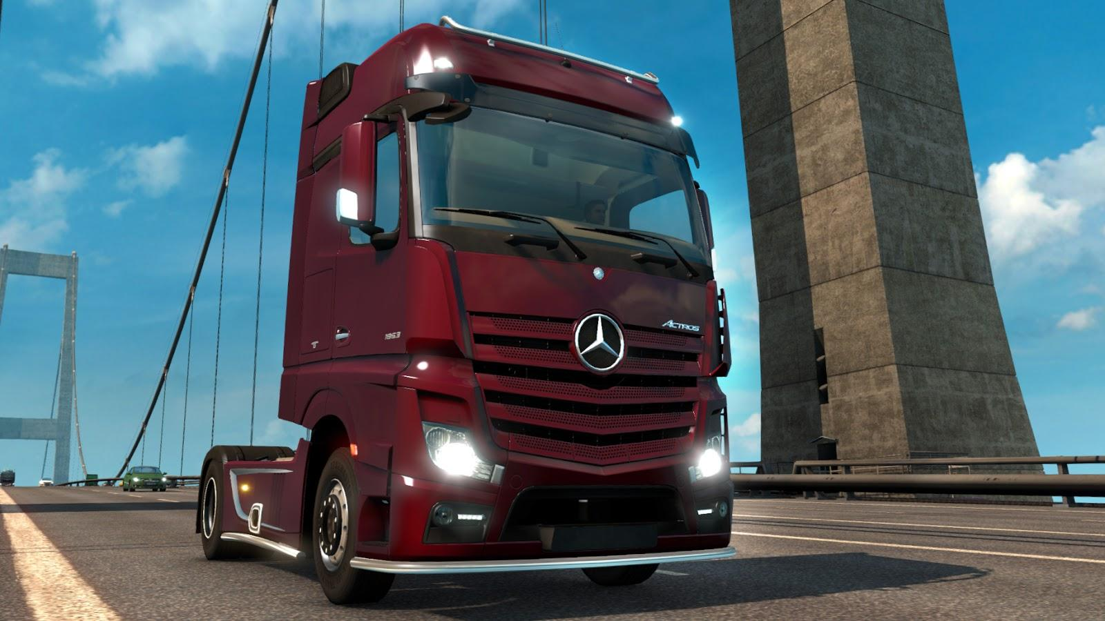 Open beta featuring mercedes benz new actros for Mercedes benz us open