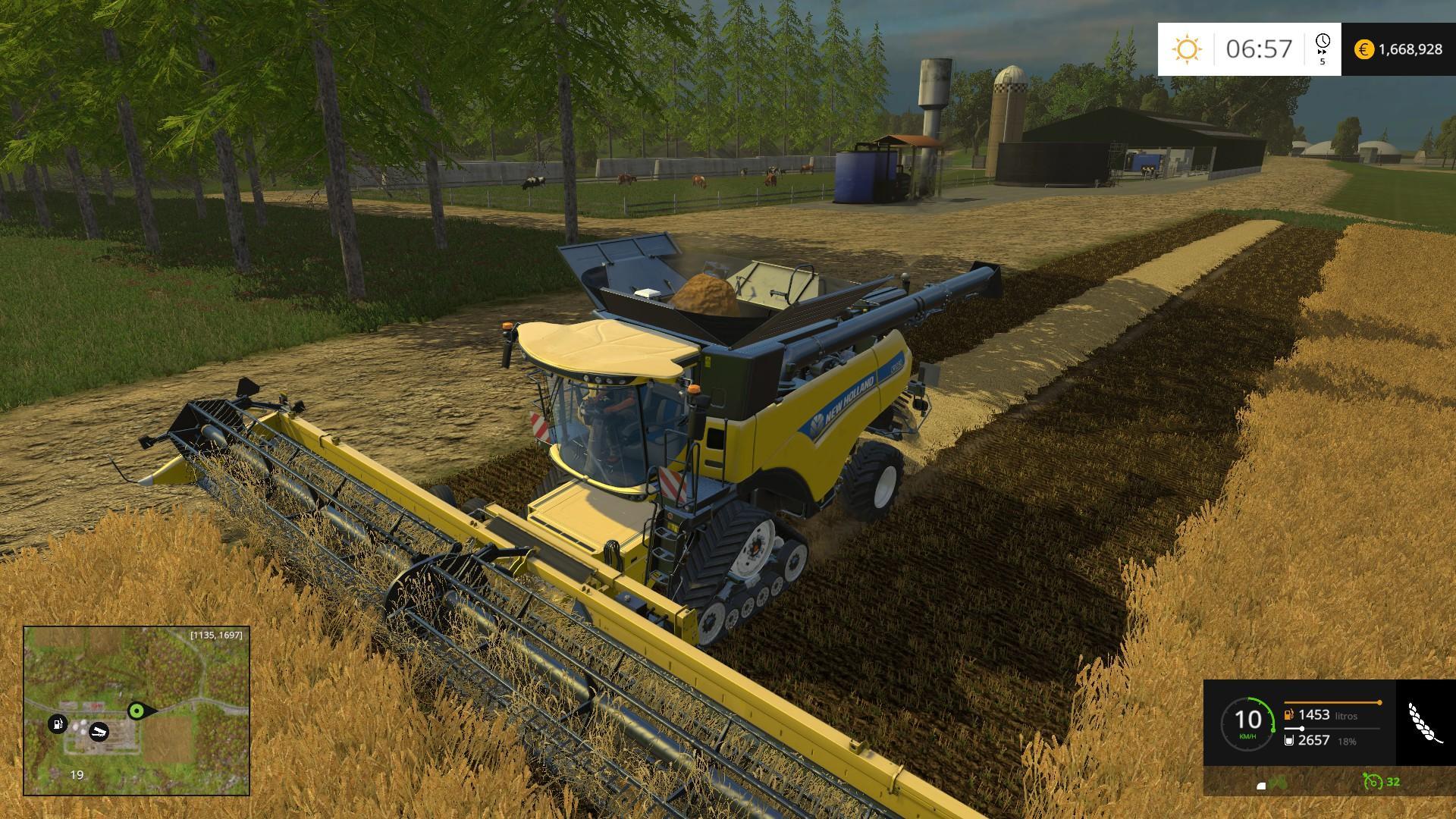 Brazilian Map for Farming Simulator 15 Beta Modhubus