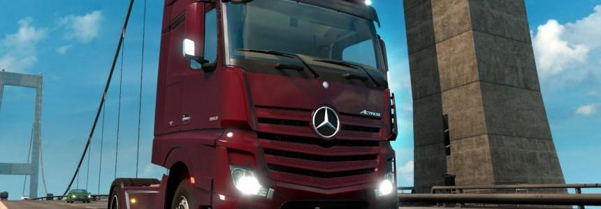 1.18 Open Beta featuring Mercedes Benz New Actros available now!