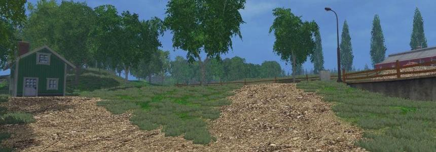 Fresh Paved roads cobblestone new fence For Bjornholms original map v1.0