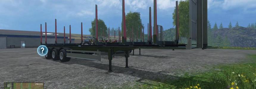 15 Meter Fiegl TimberKipper V2