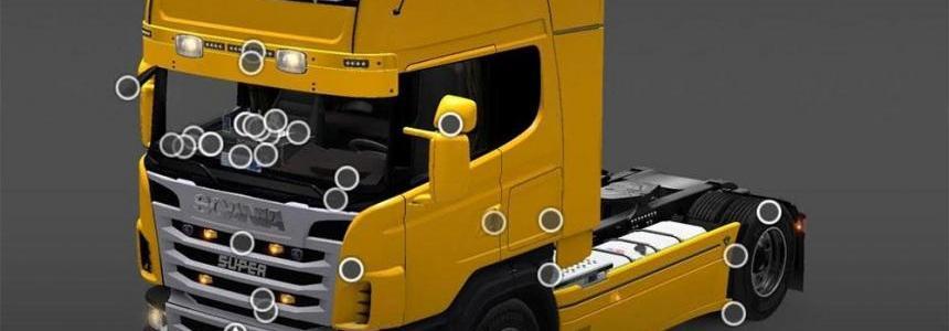 Scania R & Interior