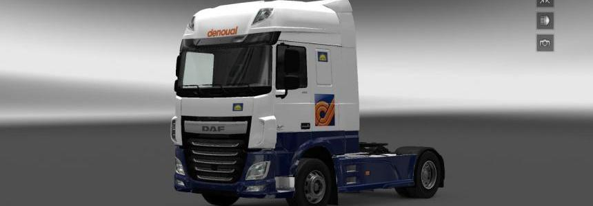 Denoual DAF XF + Trailer V1