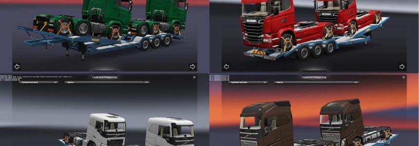 Additional Cargo (Trucks) for Truck Transporter