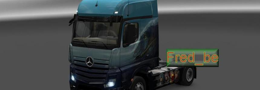 Air-Conditioner for Mercedes Actros 2014 1.18.x