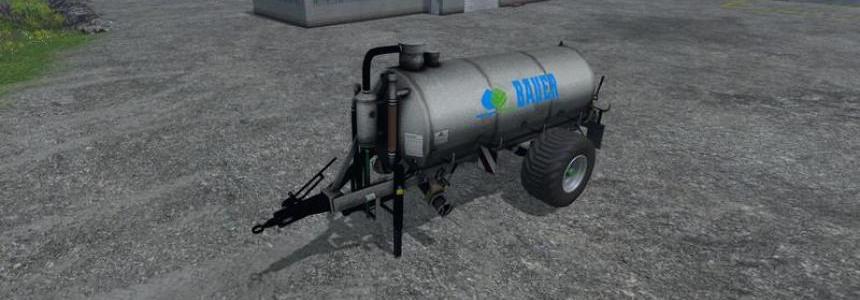 Bauer V90 slurry tanker v1.0