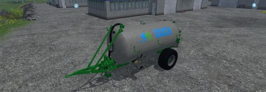 Bauer VB 60 Liquid manure spreader v1.0