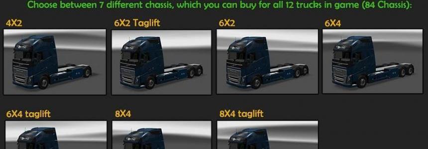 BDF Tandem Truck Pack v33