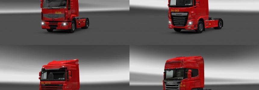 Biedronka Trucks Pack v1.0