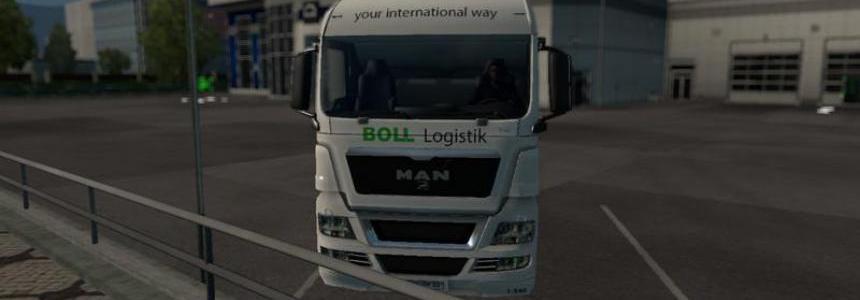 BOLL Logistik MAN TGX XLX v1.2.5