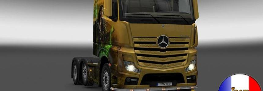 Bottomgrill mudflaps mercedes actros 1.18