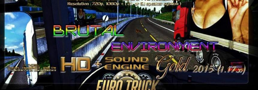Brutal Environment HD + Sound engine 2015 GOLD ONLY 1.17.X FINAL