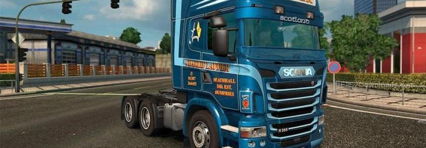 Charlie Lauder Metallic Skin for Scania RJL