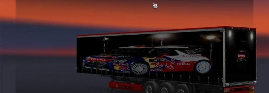 Citroen DS3 WRC trailer