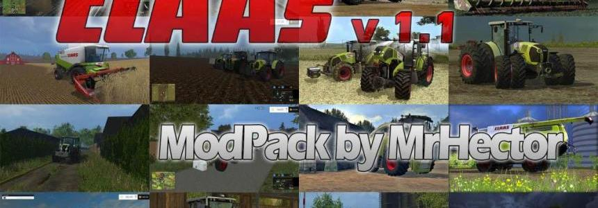 CLAAS Mods Pack v1.1
