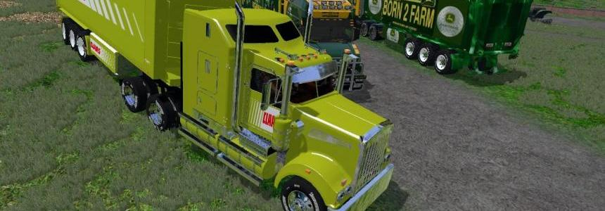 CLAAS TRUCK AND CLASS TRAILER EDIT by Eagle355th v1.0