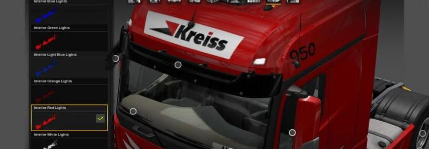 Colored interior lights for all Trucks upgrade by Andis Kreps V3